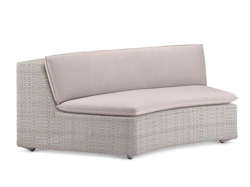 Corner modular garden sofa LOU | Corner sofa - Dedon