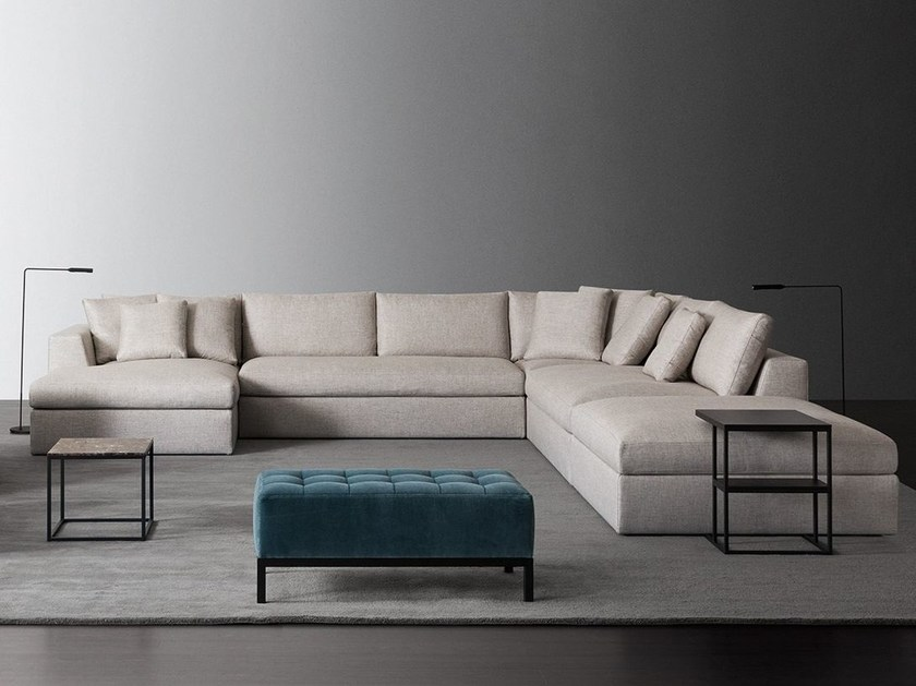 Sectional sofa LOUIS PLUS by Meridiani