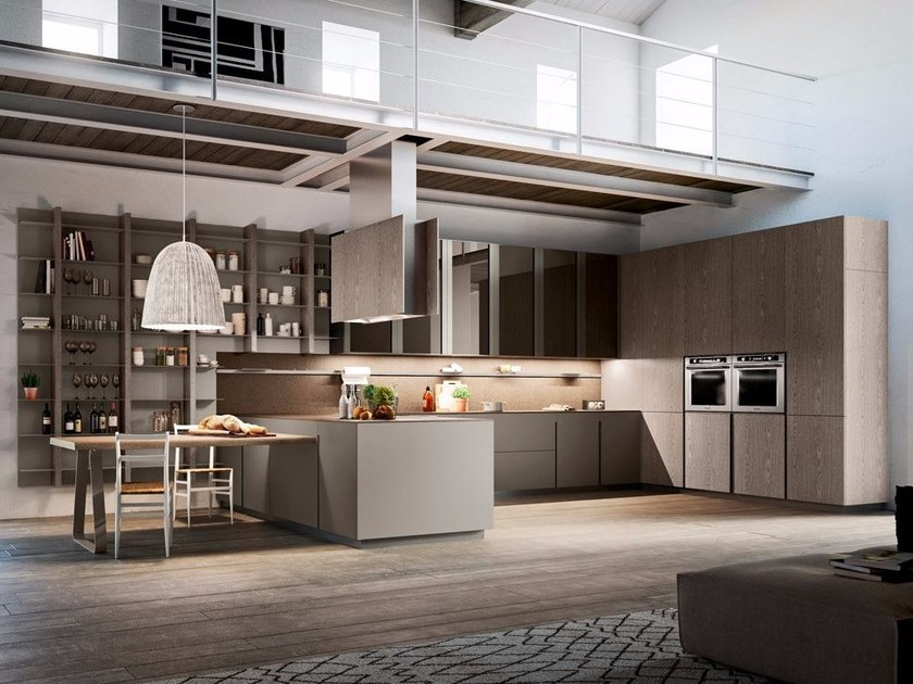 Fitted kitchen LOUNGE   Kitchen by Composit