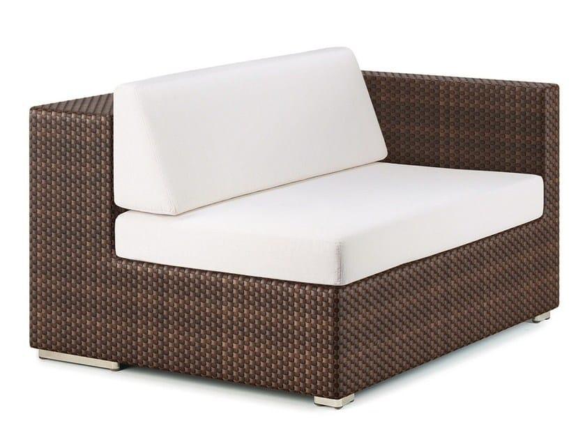 Corner modular garden armchair LOUNGE | Corner garden armchair by Dedon