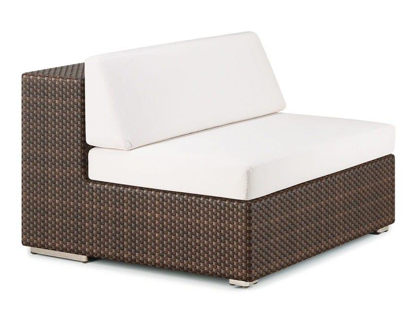 Garden armchair LOUNGE | Modular armchair by Dedon