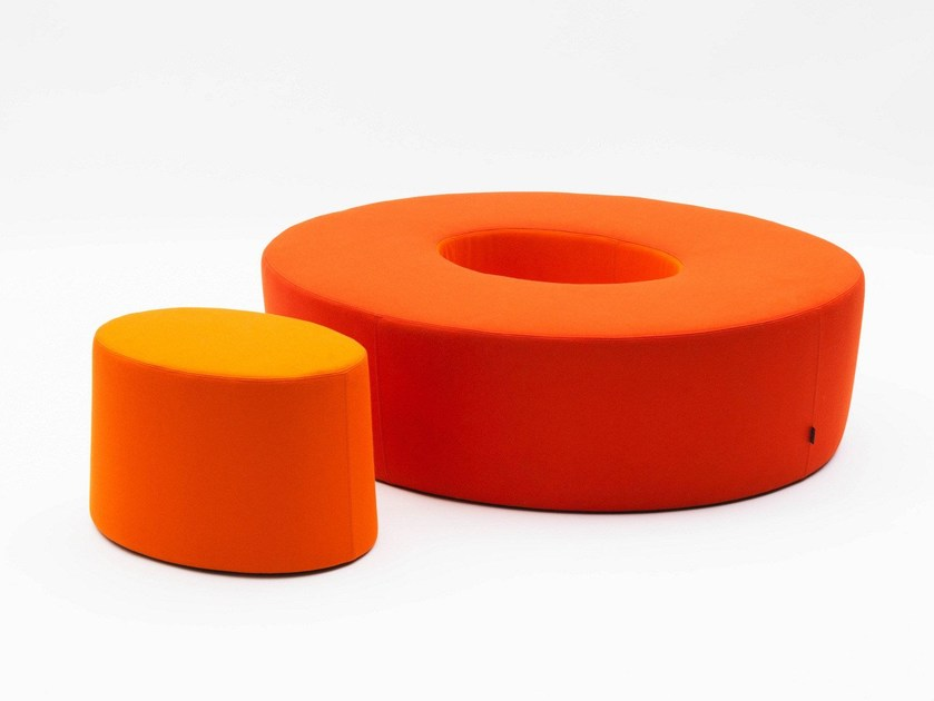 Fabric pouf LOVE LETTERS O - Segis
