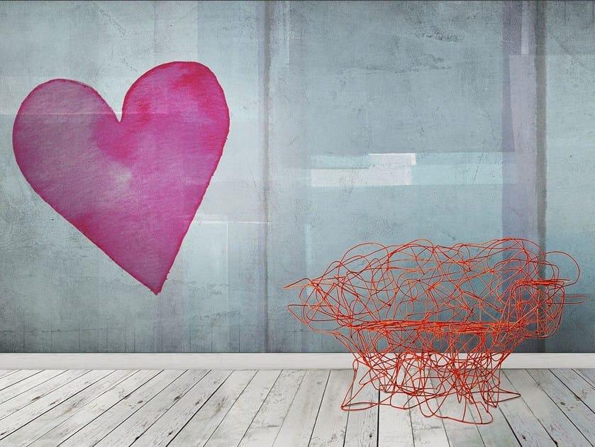 Carta da parati in vinile o fibra di vetro love paint n for Carta da parati in fibra di vetro