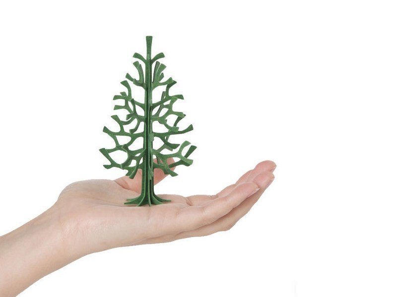 Plywood decorative object LOVI SPRUCE TREE 12CM - Lovi
