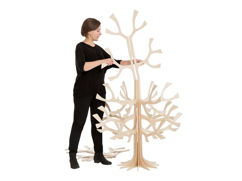 Plywood decorative object LOVI SPRUCE TREE 180CM by Lovi