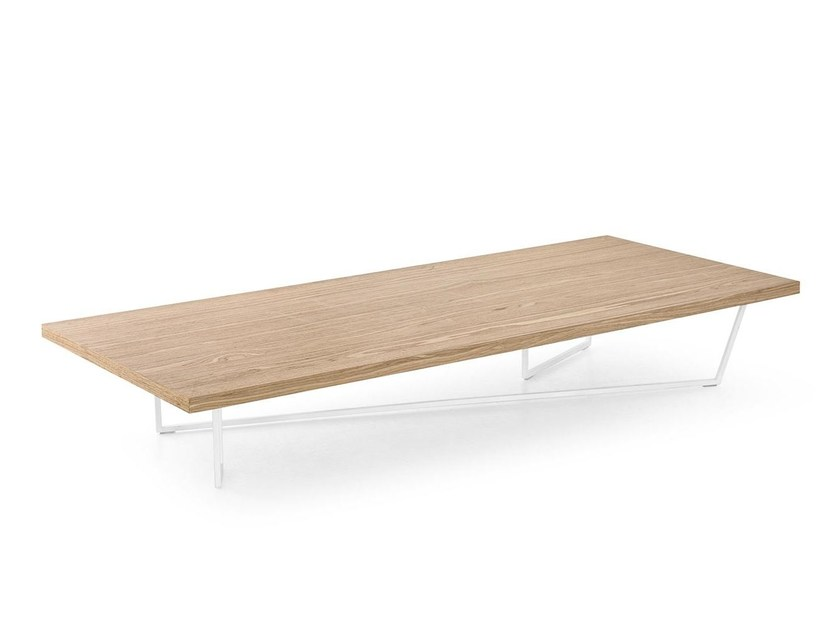Rectangular coffee table for living room LOW-T by Calligaris
