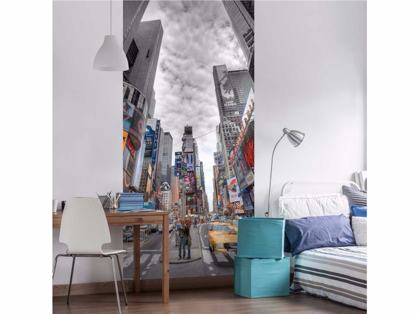 Panoramic non-woven paper wallpaper LU0018 by LGD01