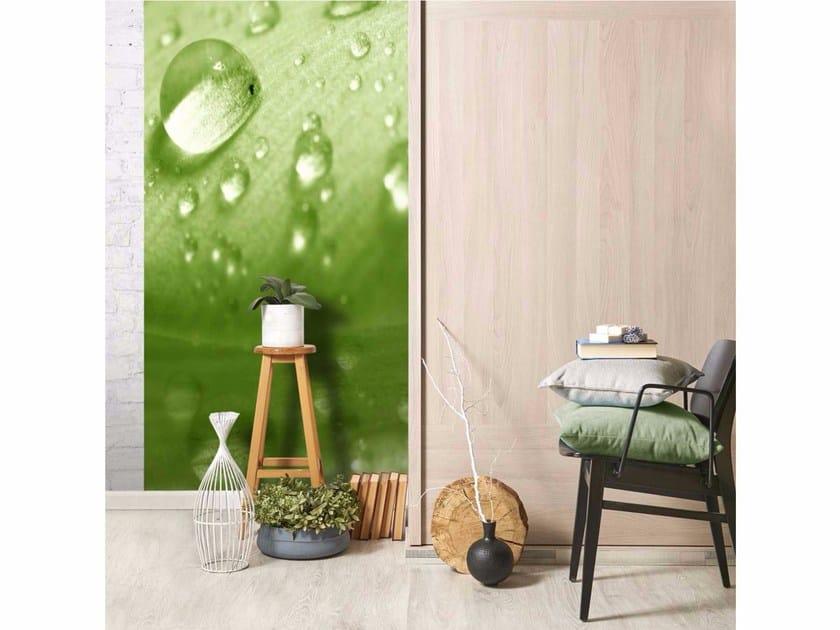 Motif non-woven paper wallpaper LU0027 - LGD01