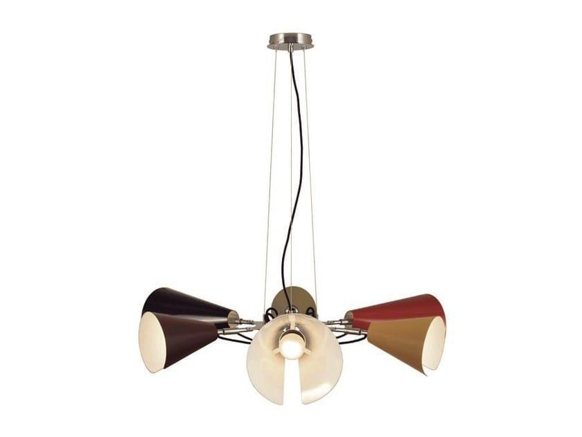 Metal pendant lamp LUA   Metal pendant lamp by Aromas del Campo
