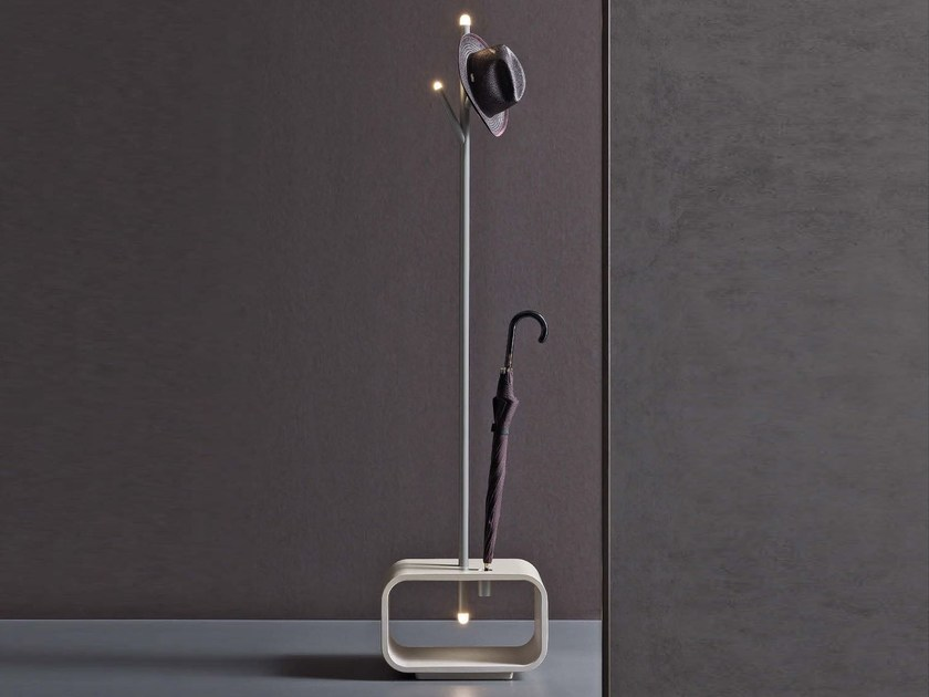 Floor lamp / coat rack LUCCIOLA - Natevo