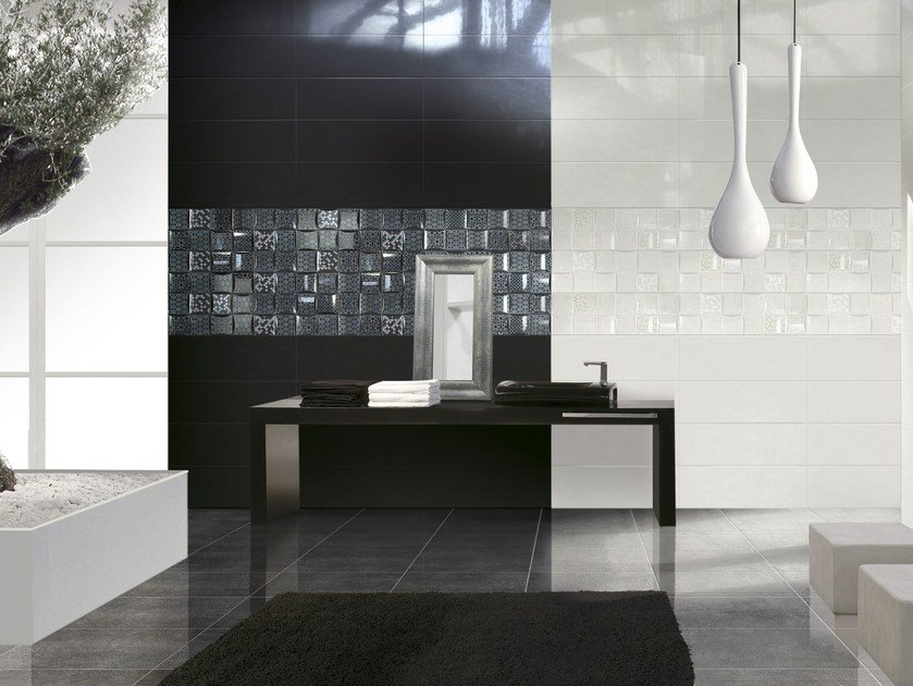 Double-fired ceramic wall tiles LUCE - CERAMICHE BRENNERO