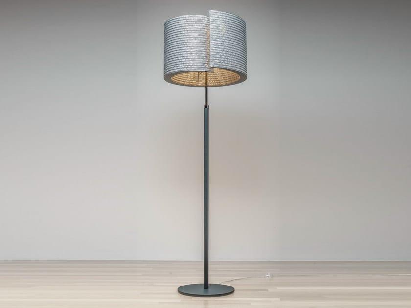 Kraft paper floor lamp LUCE | Floor lamp by Staygreen