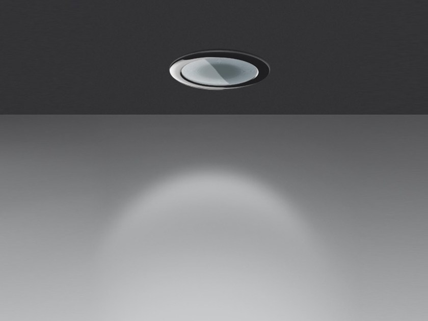 Fluorescent recessed ceiling lamp LUCERI FLUO by Artemide