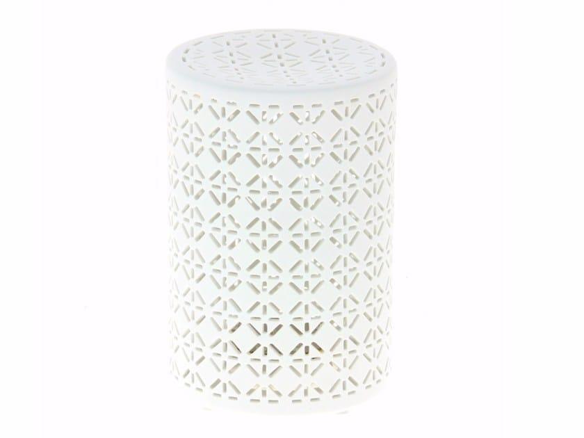 LED porcelain table lamp LUCIOLES H 18 CM - Compagnie Française de l'Orient et de la Chine