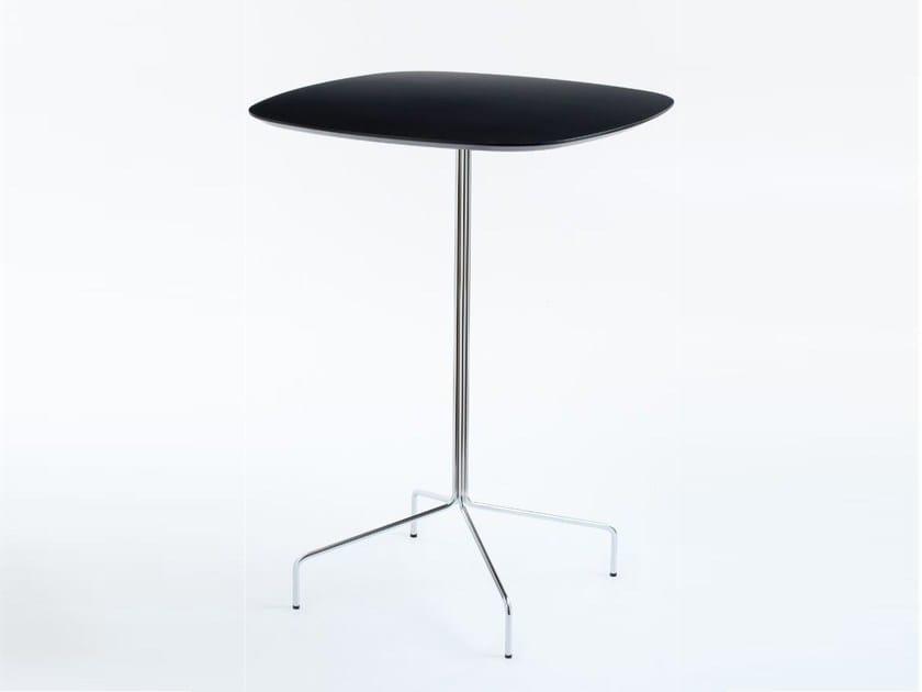 High table with 4-star base LUCKY | High table - LAMM