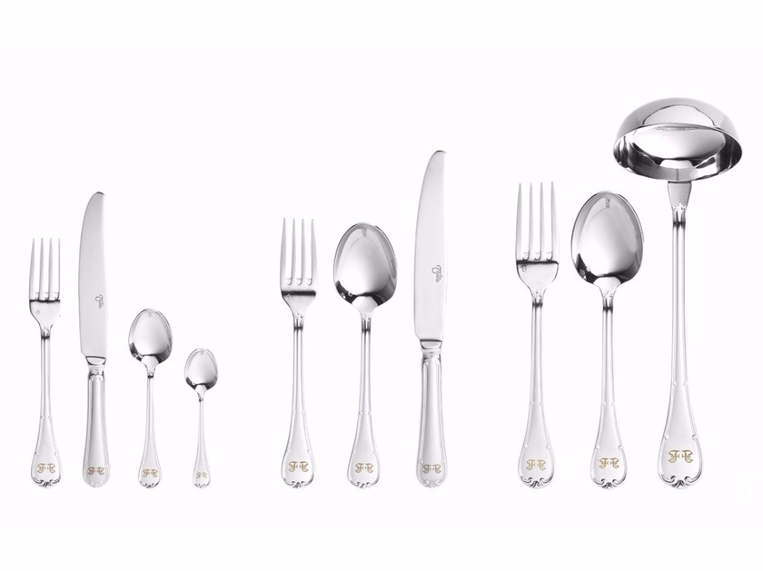 Stainless steel cutlery set LUCY - Gianfranco Ferré Home