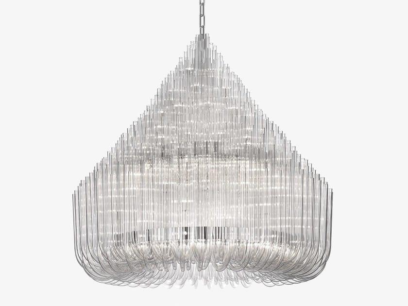 Glass chandelier LUDWIG - Lasvit