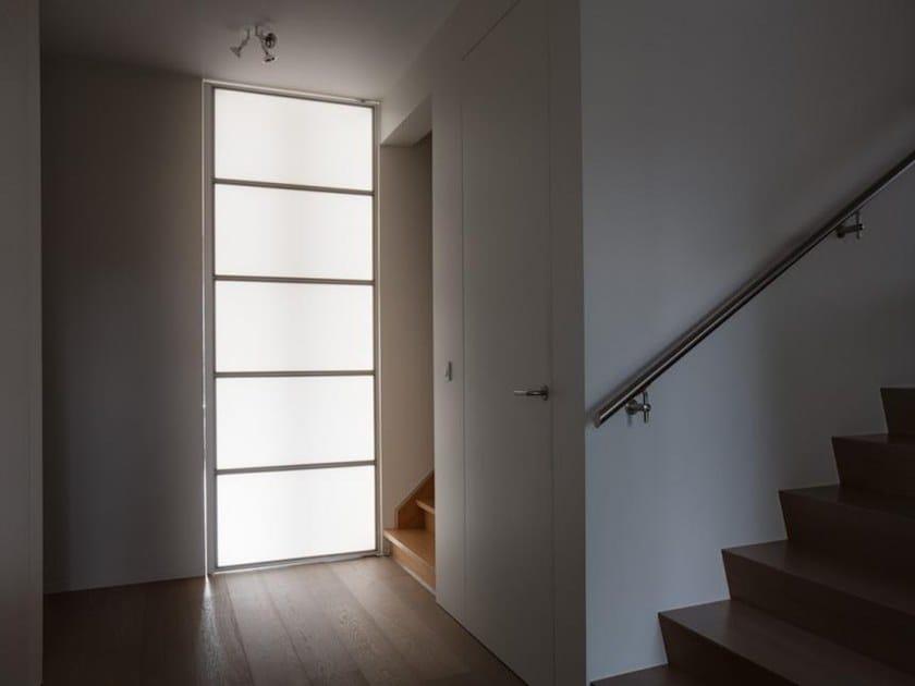 Porta sottile con illuminazione integrata lumidoor monovolume avc gemino - Porta rototraslante prezzi ...