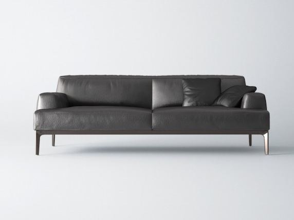 2 seater leather sofa LUNA   2 seater sofa - Grado Design Furnitures