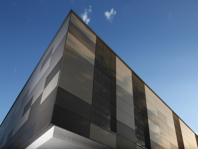 Steel Ventilated facade LUNA by DALLERA TECNOLOGIE