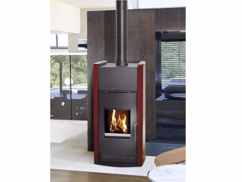 Wood Heating stove LUNA IDRO by Fintek