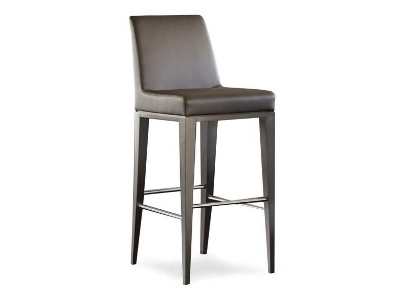 Upholstered counter stool LUNA | Counter stool - Potocco