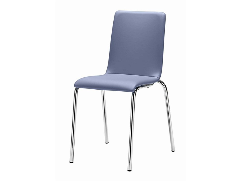 Stackable chair Luna 104 - Metalmobil
