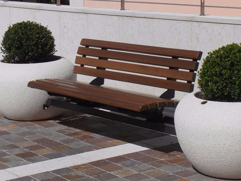 Bench with Integrated Planter LUNA/VENERE COMBINED - Bellitalia
