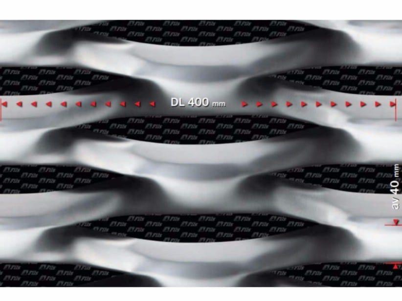 Stretched mesh for facade finish LUNA 400 - FILS