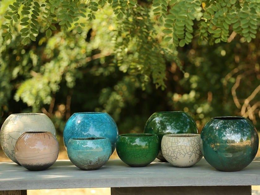 Terracotta vase LUND - Domani