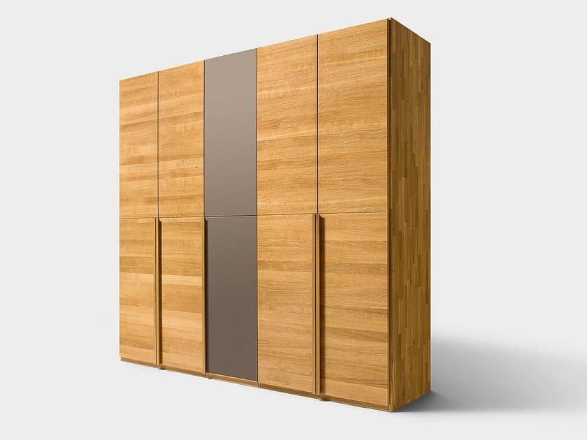 Solid wood wardrobe LUNETTO | Wardrobe - TEAM 7 Natürlich Wohnen