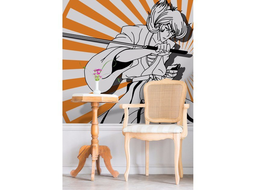 Adhesive washable wallpaper LUPIN16 by Wall LCA