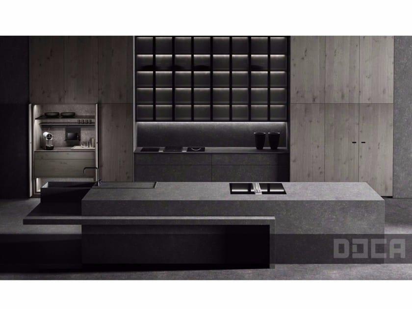Kitchen with island LUXURY STONE ARGUS - Doca