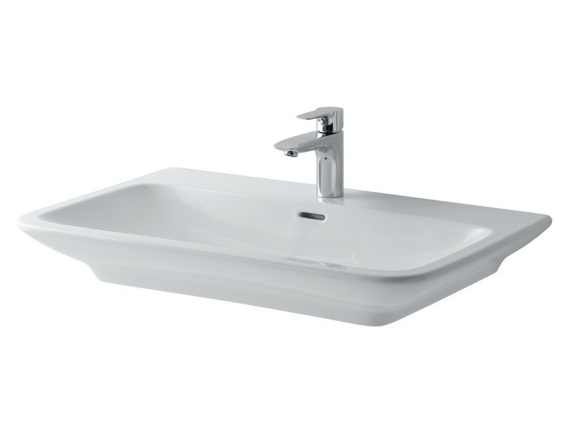 Rectangular ceramic washbasin MH | Rectangular washbasin - TOTO