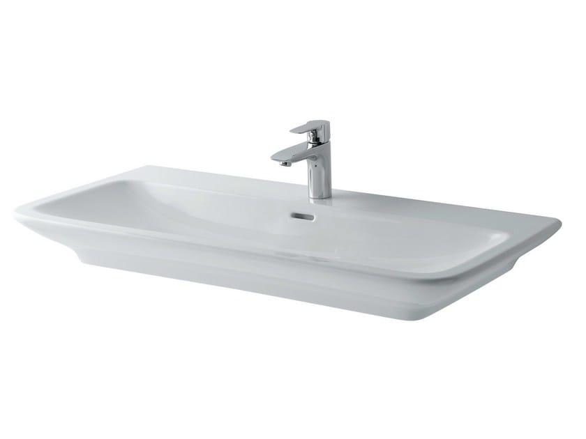 Rectangular ceramic washbasin MH | Ceramic washbasin by TOTO