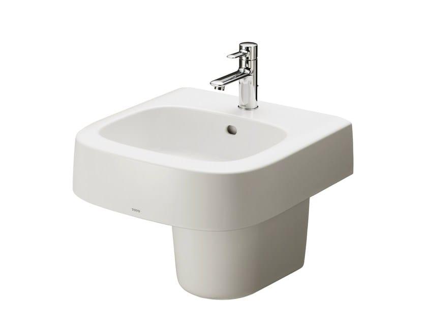 Washbasin pedestal NC | Ceramic washbasin pedestal - TOTO