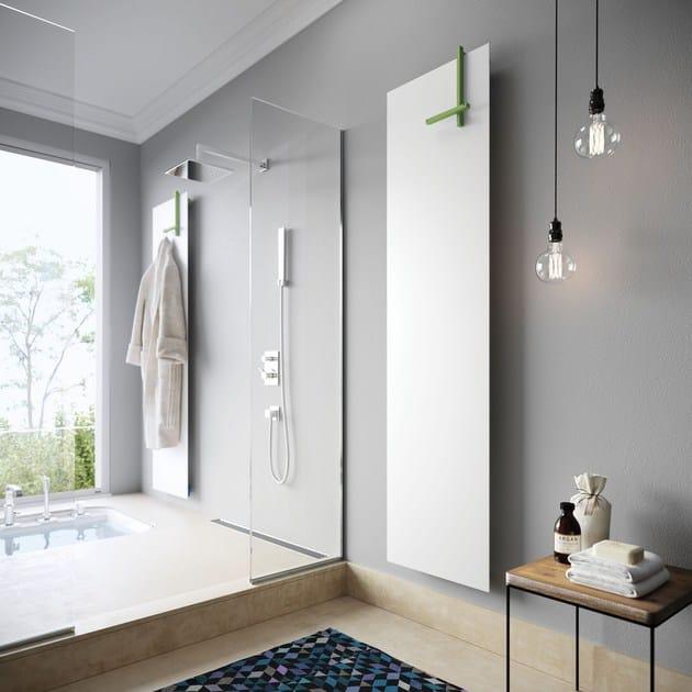 Lynea porta asciugamani by cordivari design marco pisati - Porta asciugamani per termoarredo ...