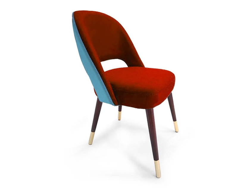 Upholstered restaurant chair LA HABANA by Moanne