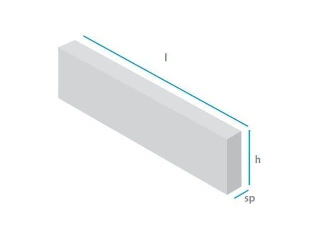 Architrave in calcestruzzo cellulare autoclavato armato Architrave - mattONE® by Doc Airconcrete