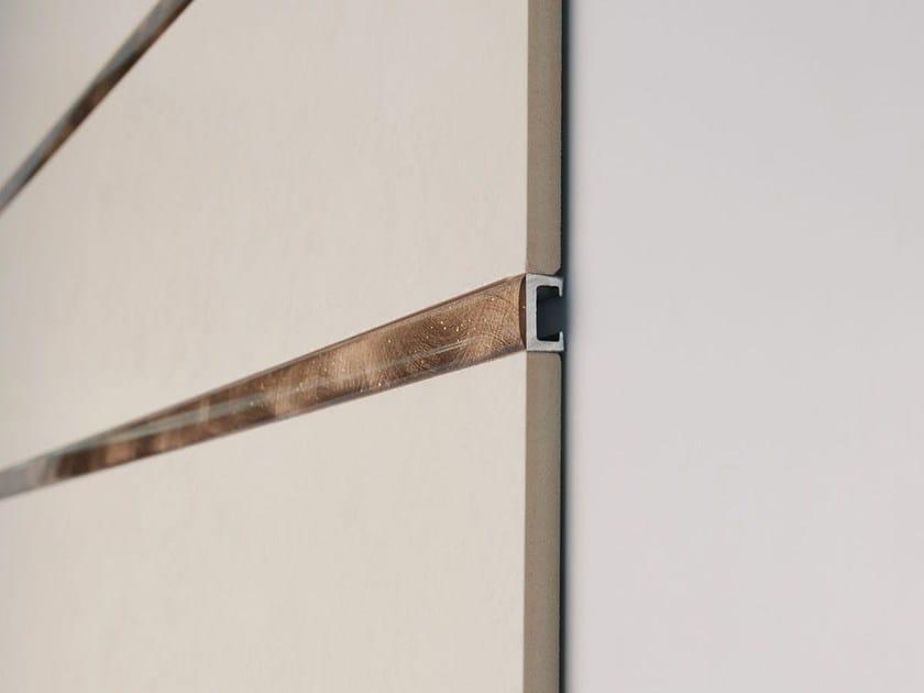Decorative edge profile for walls Listec LI 15 Glitter - PROFILITEC