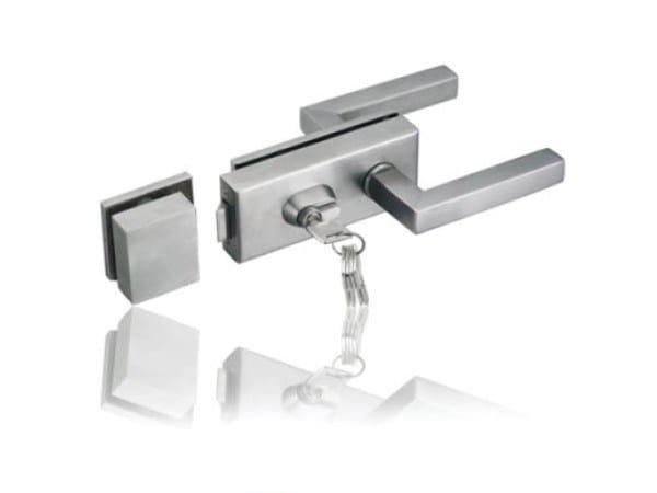 Glass door lock Lock by FARAONE