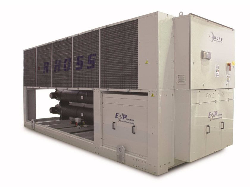 Polyvalent ecological air-cooled system Low consumption WinPOWER EXP - Rhoss
