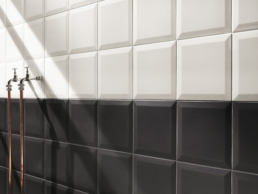 Indoor porcelain stoneware wall tiles LUMINA 20X20 by FAP ceramiche