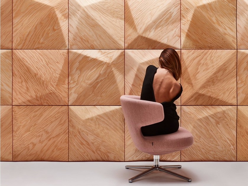 Wooden 3D Wall Panel MATRA - MOKO