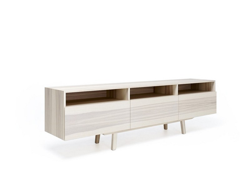 Wooden sideboard with drawers M1201 | Sideboard with drawers - MINT FACTORY