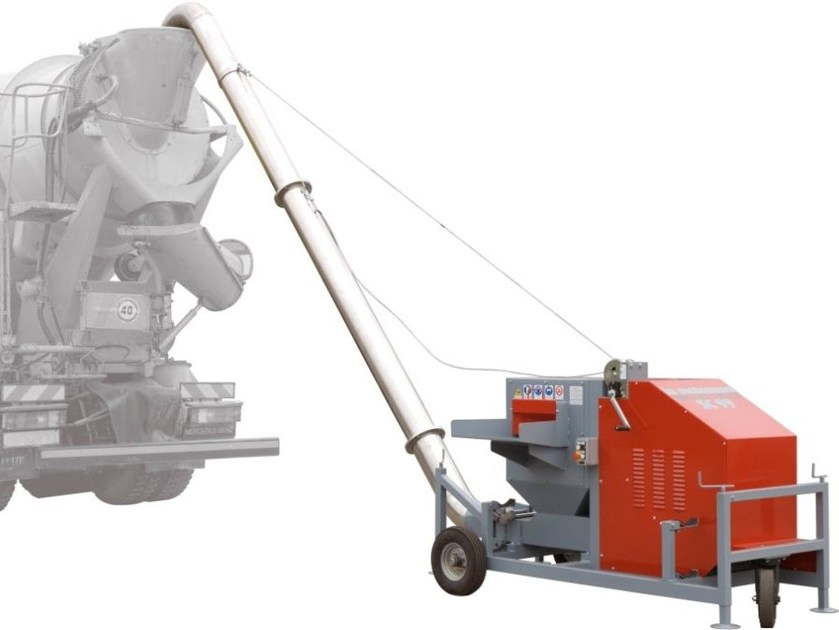 Machine to disentangle and to load steel fibres MACHINE mod. SC99/3 by LA MATASSINA
