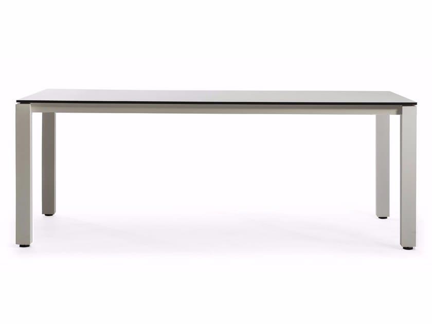 Rectangular HPL garden table MACHAR | Dining table - OASIQ