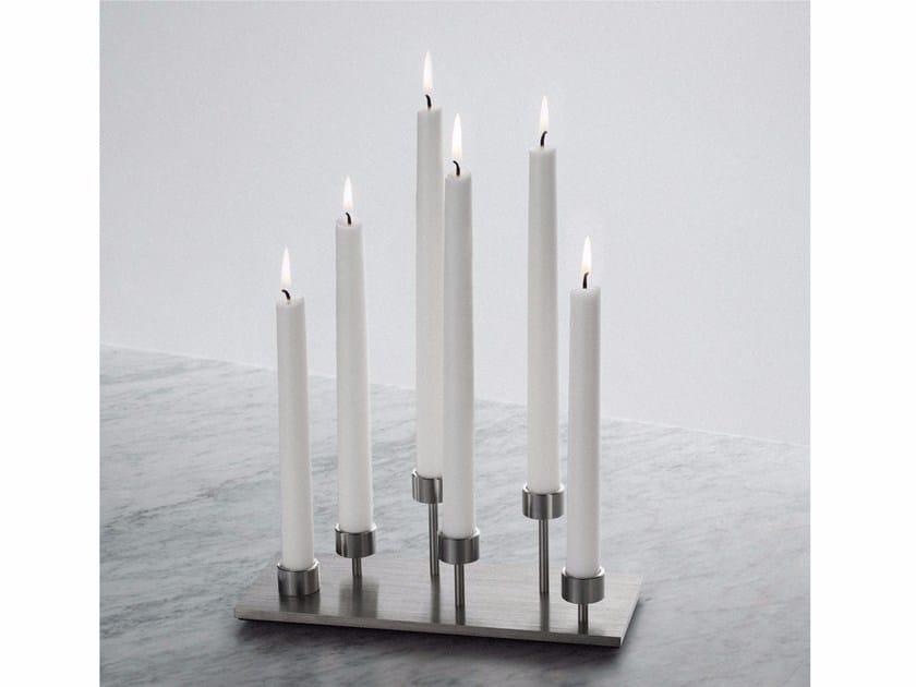Candle holder Candelabra - Steel - Buster + Punch
