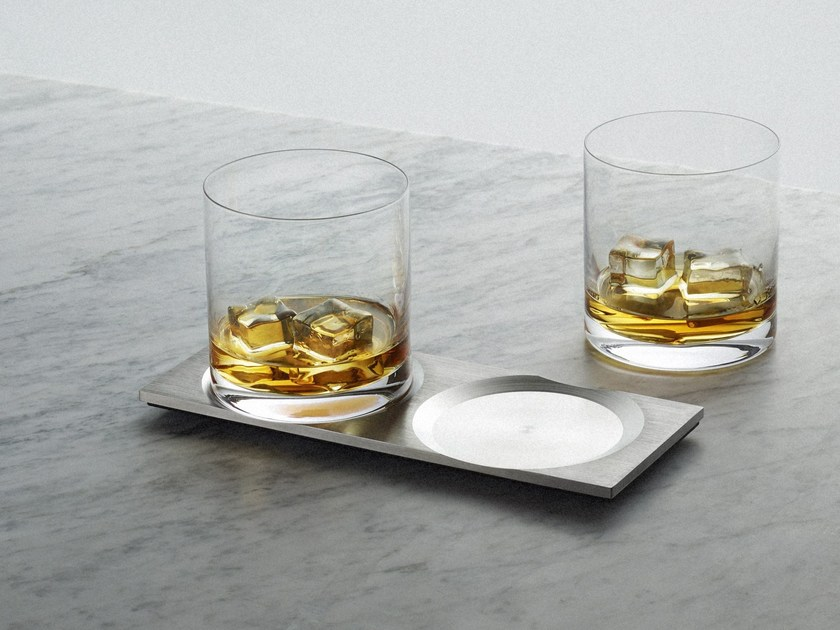 Drink coaster Whisky - Steel - Buster + Punch