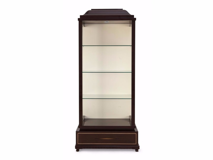 Wood and glass display cabinet MADEMOISELLE ETAGÈRE - Christopher Guy
